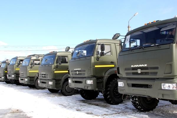 В Коми в колонии поступили новые КамАЗы и автобус