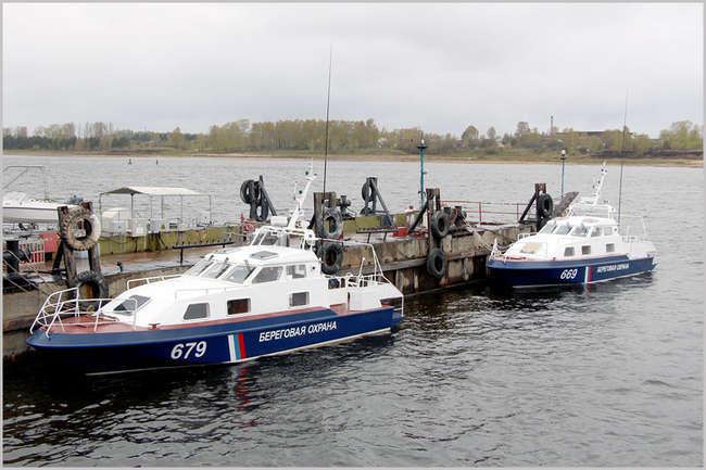 ССЗ «Вымпел» спустил на воду два малых пограничных катера «Чибис» проекта 21850 для ФСБ РФ