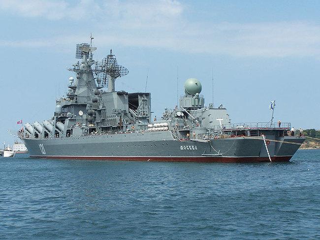 В Каспийском море состоялись учения группировок кораблей Каспийской флотилии