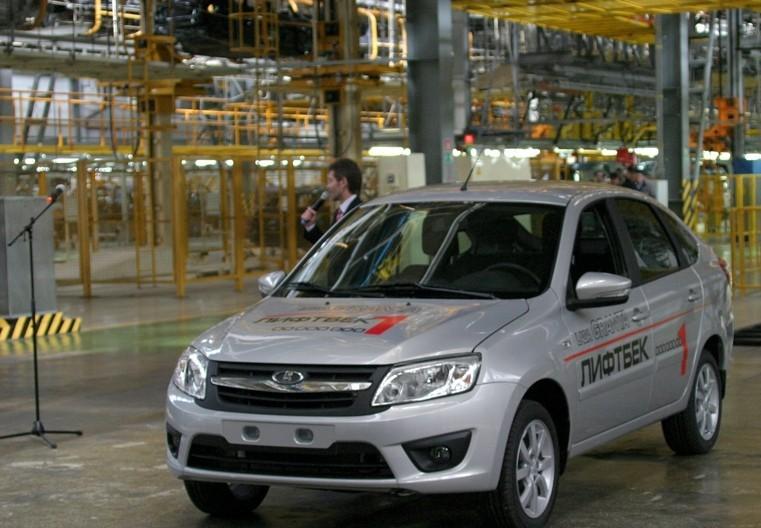На Ижевском автозаводе запущено производство LADA Granta в кузове лифтбек