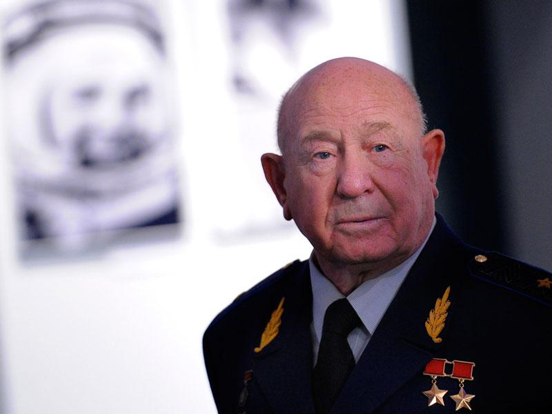 Космонавт Алексей Леонов отмечает 80-летие