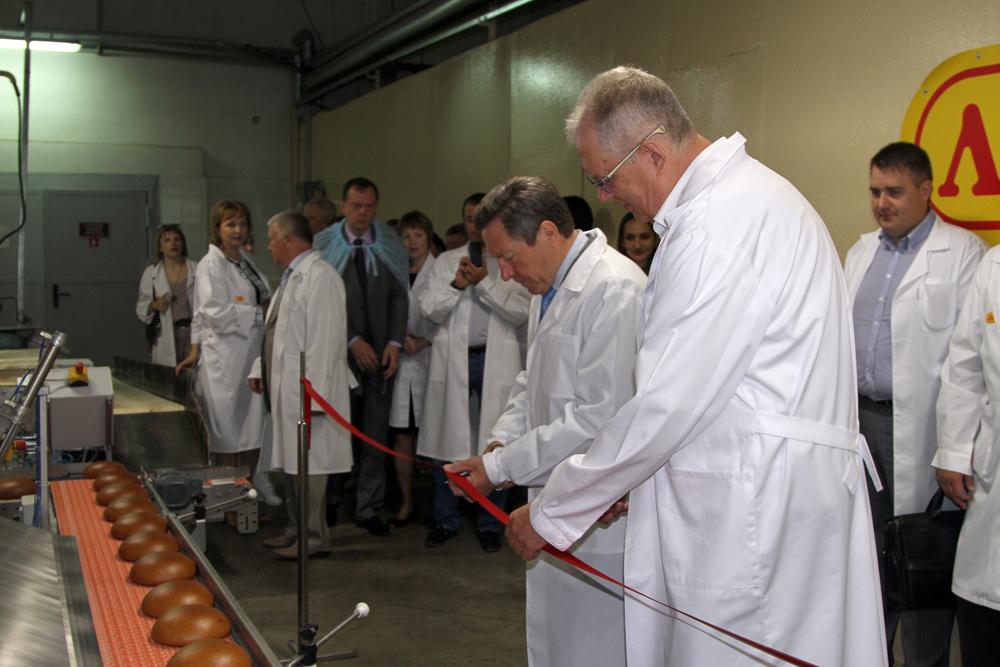В Липецкой области открылись новые линии по производству муки и подового хлеба