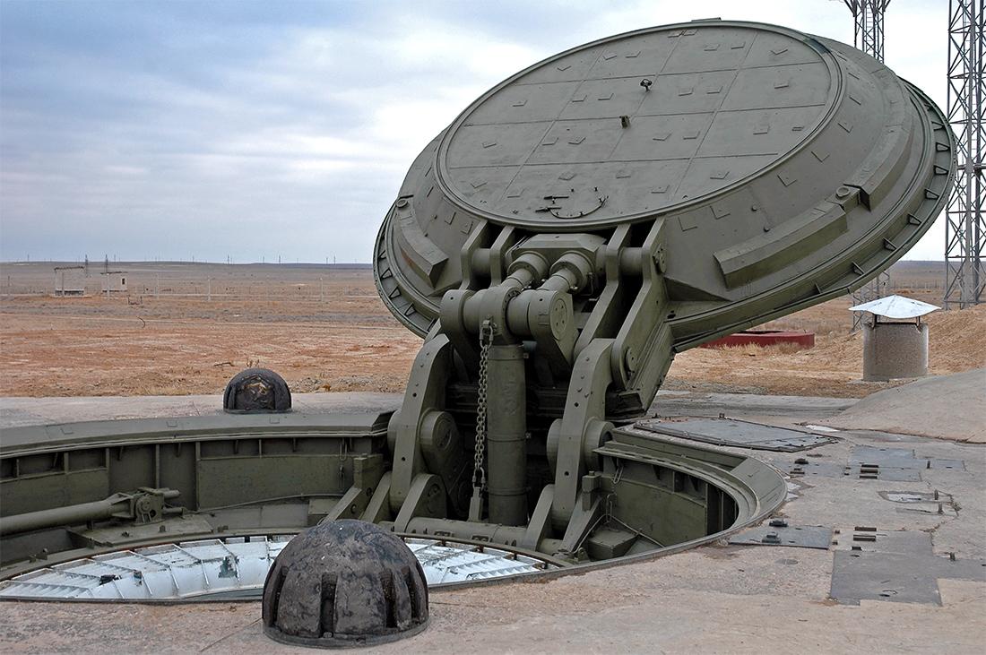Межконтинентальная ракета в шахте.