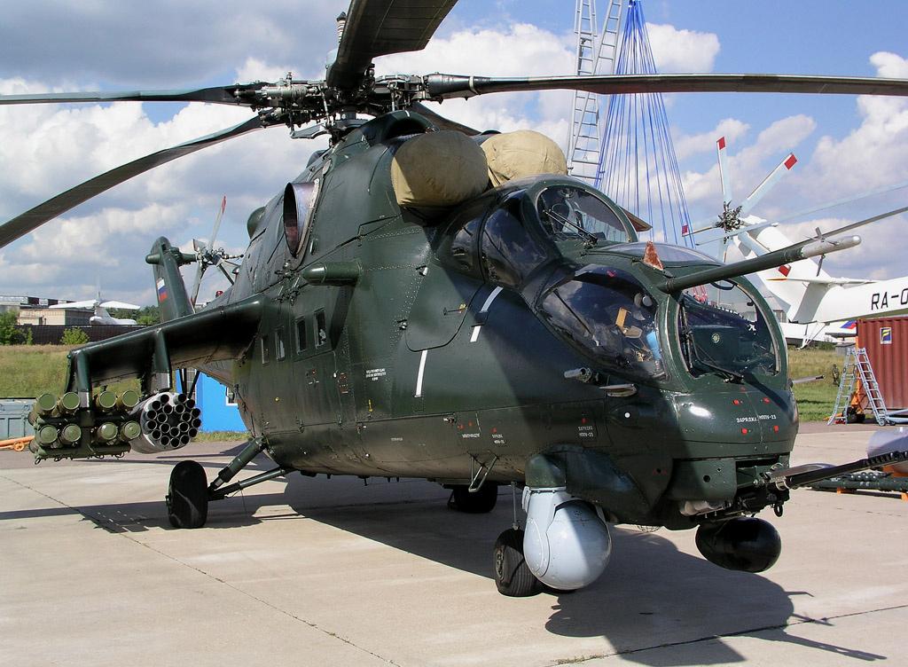 База армейской авиации ЮВО получила новейшие вертолеты Ми-35