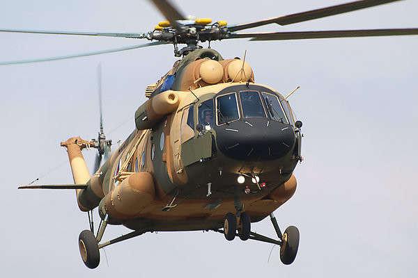Россия поставила очередные три вертолета Ми-17В-5 в Афганистан