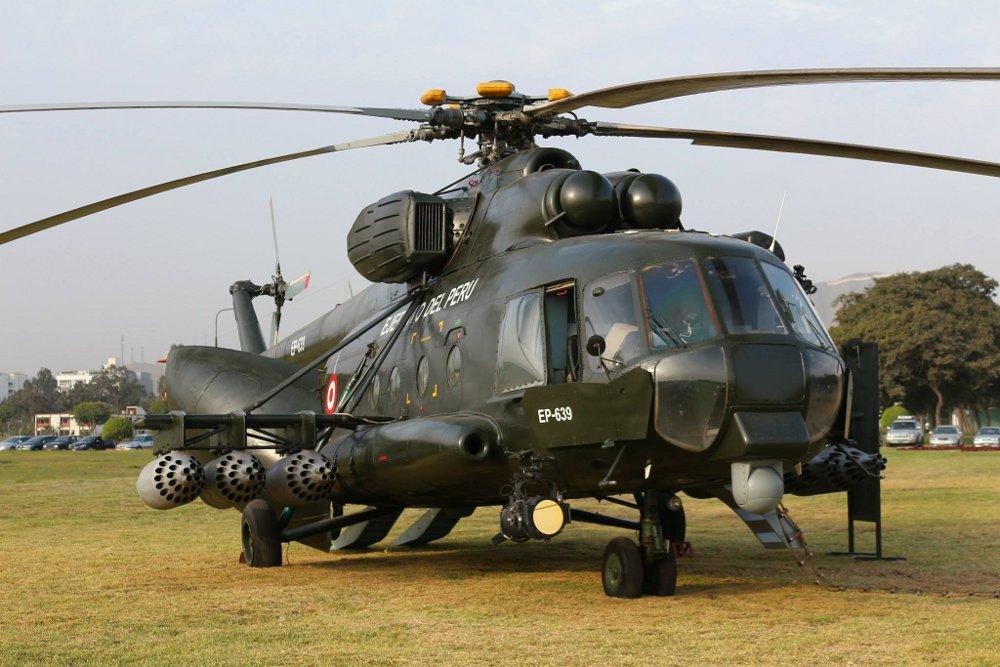 Перу получит восемь вертолетов Ми-171Ш