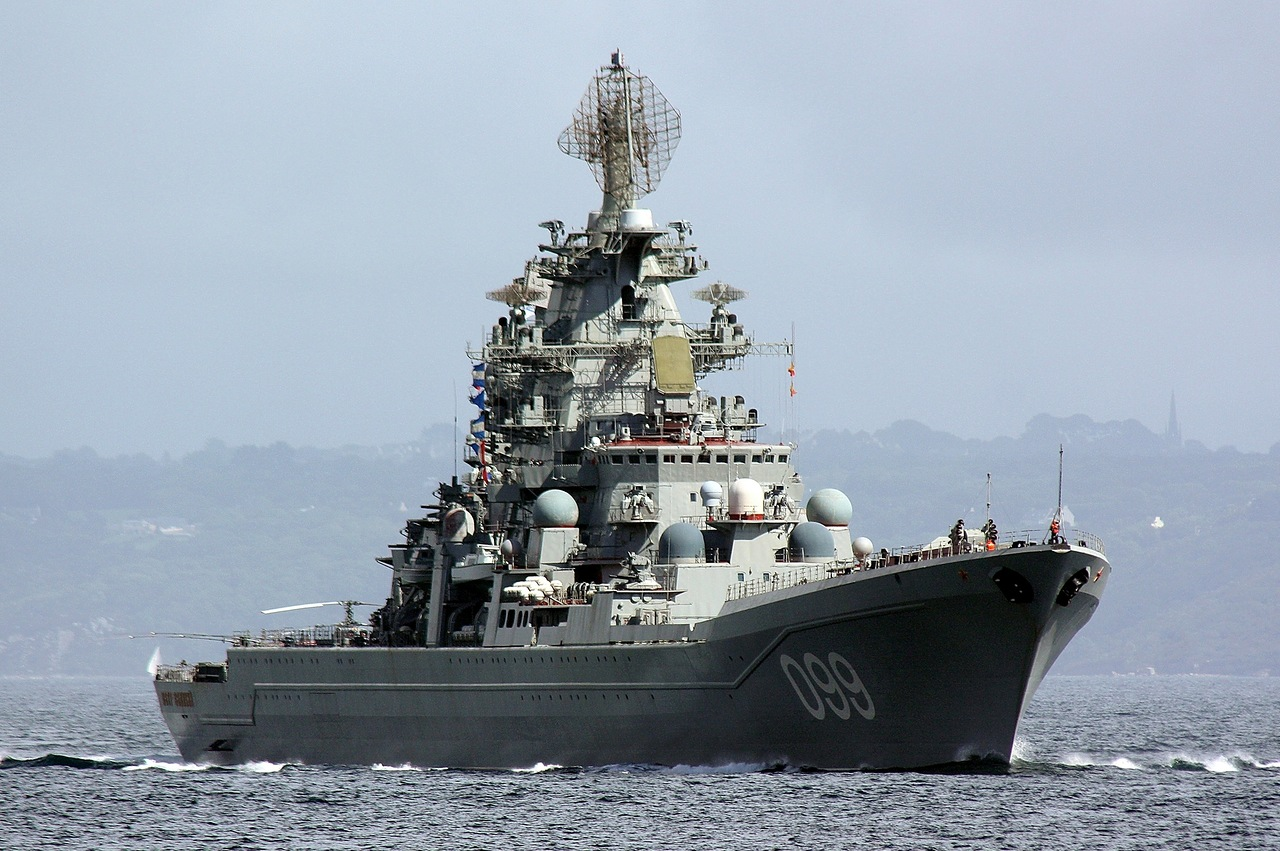 """Флагман """"Пётр Великий"""" уничтожил условную цель в Средиземном море"""