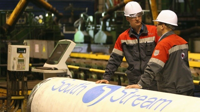 Заключены все контракты на строительство морской части «Южного потока»