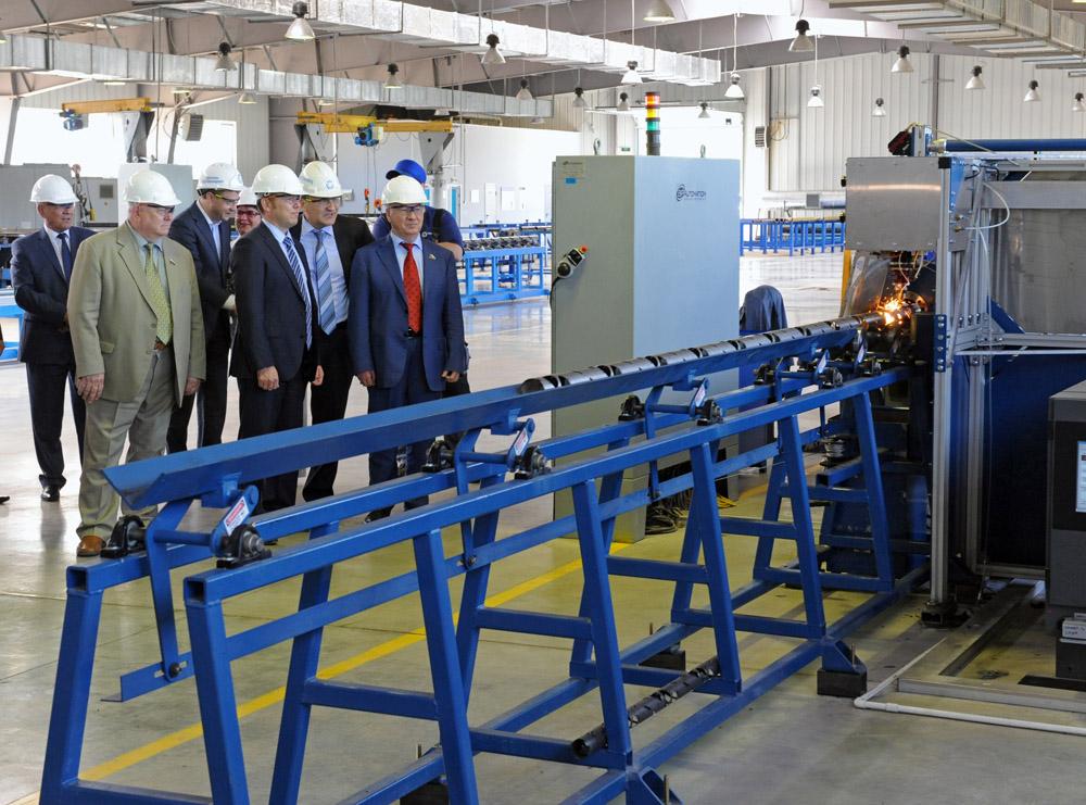В Тюменской области запущен завод Динаэнерджетикс Сибирь