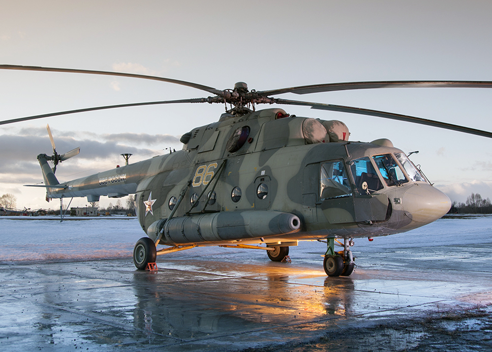 Казанский вертолетный завод выпустил 7500-й вертолет семейства Ми-8/17