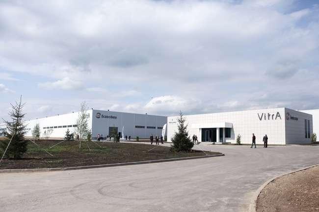 В Московской области открылся новый завод «Vitra»