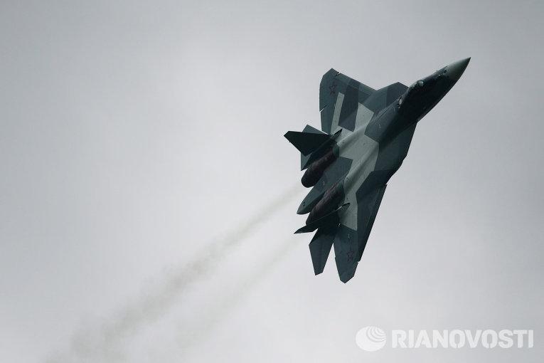 ВВС России начали госиспытания новейшего истребителя Т-50