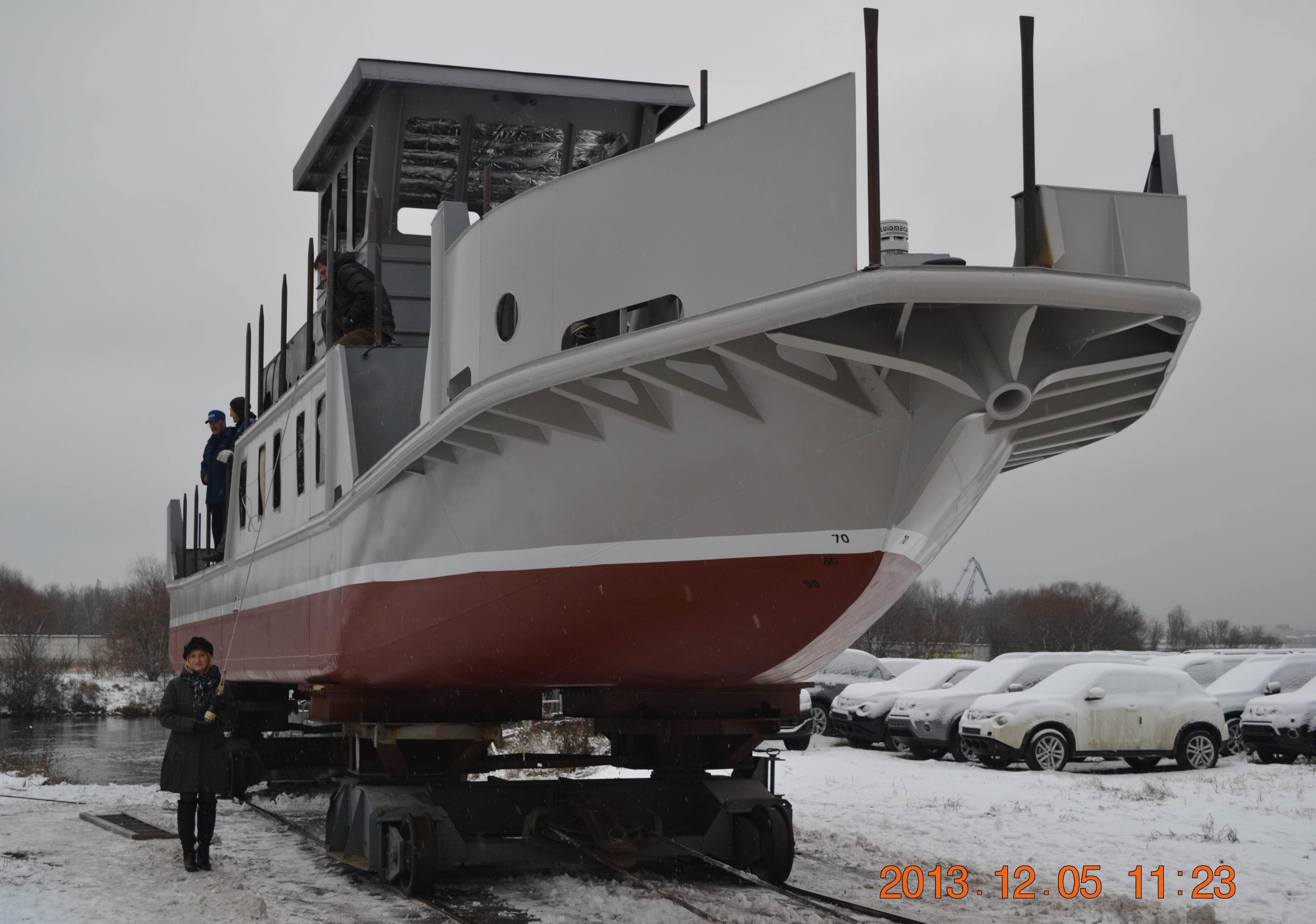 Самусьский ССРЗ построил серию обстановочных судов проекта 3050