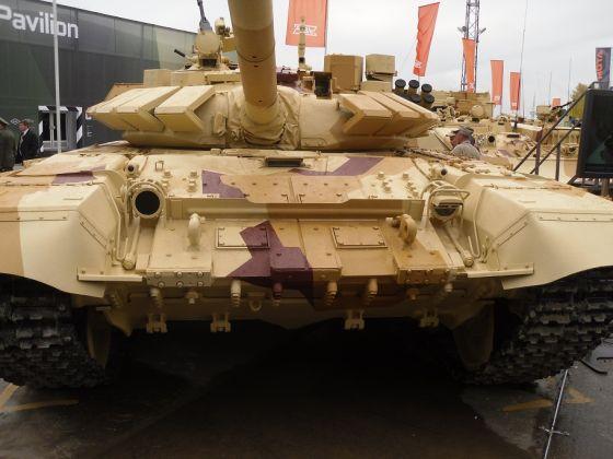 Модернизированный Т-72Б