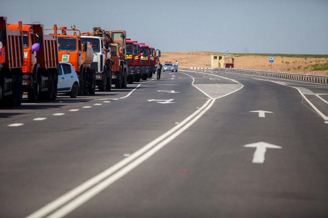 открыт новый участока дороги А-153 «Астрахань – Махачкала»