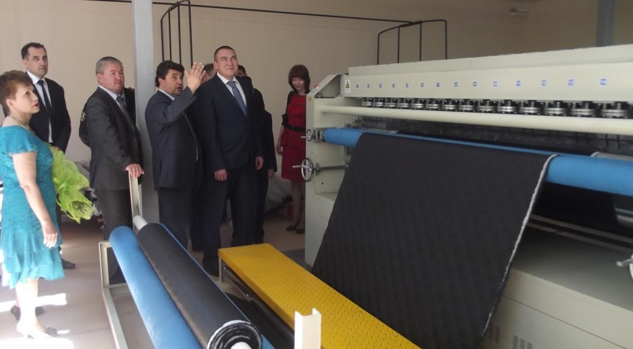 В Башкирии открыт новый производственный цех Учалинской швейной фабрики