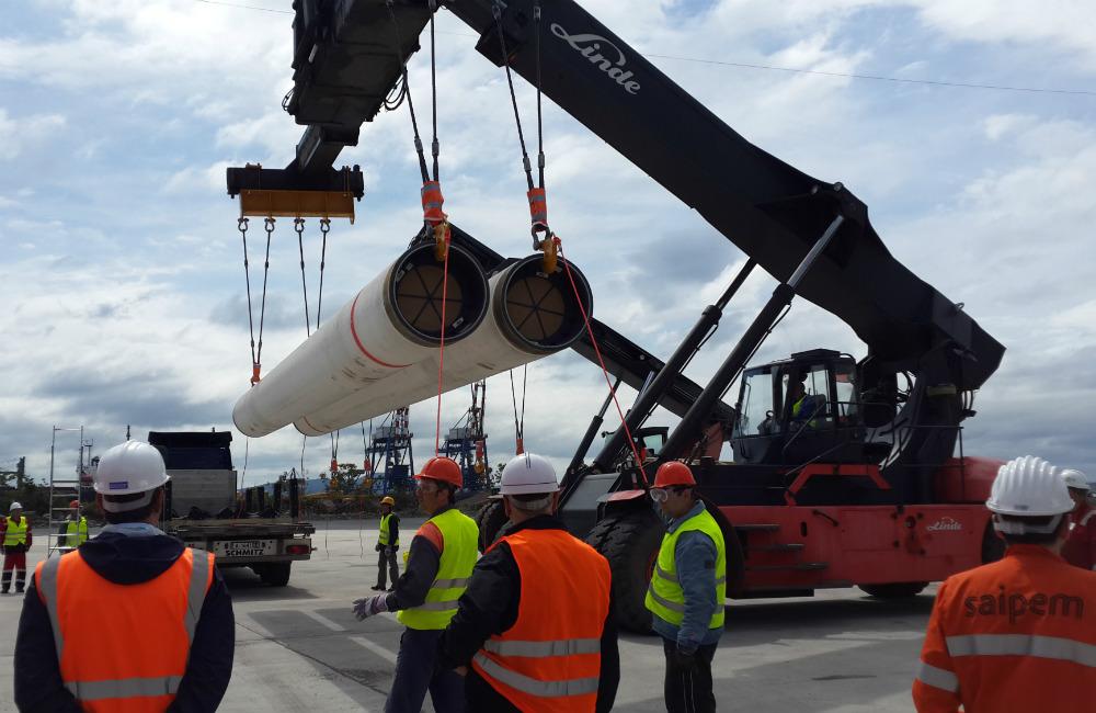 ОМК поставила в Болгарию первую партию труб для «Южного потока»