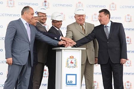 Началось строительство нового пассажирского терминала в международном аэропорту Нижний Новгород