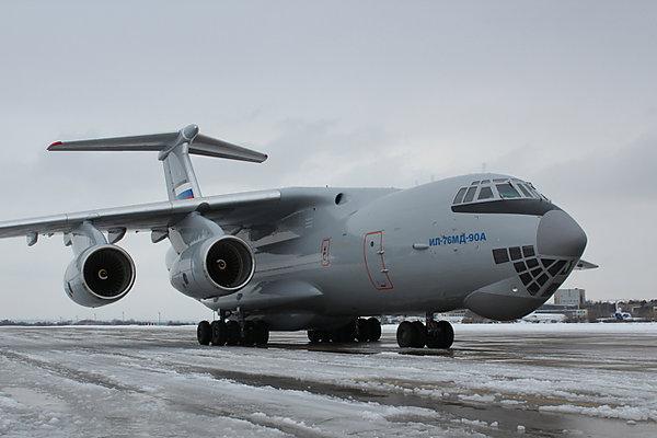 Первый серийный Ил-76МД-90А передан на покраску