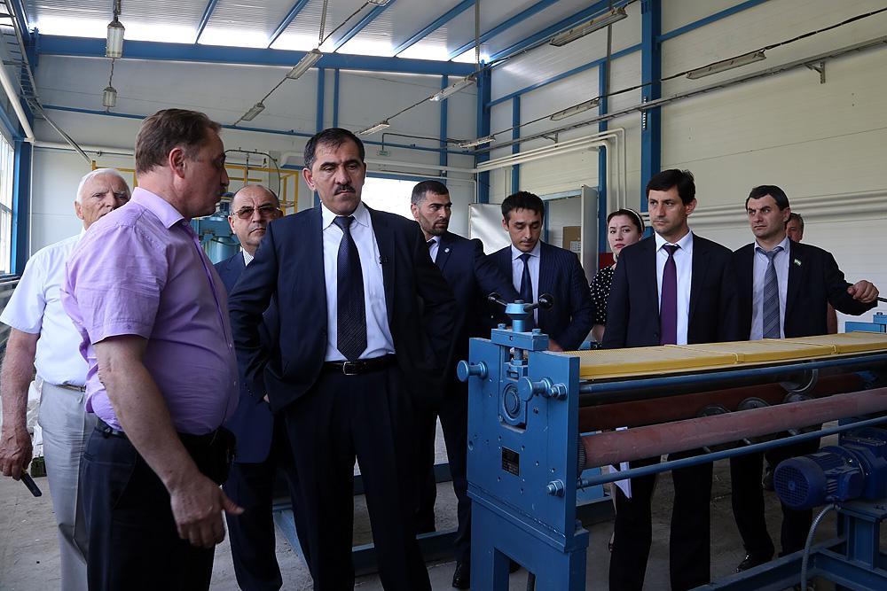 В Ингушетии запущено новое производство