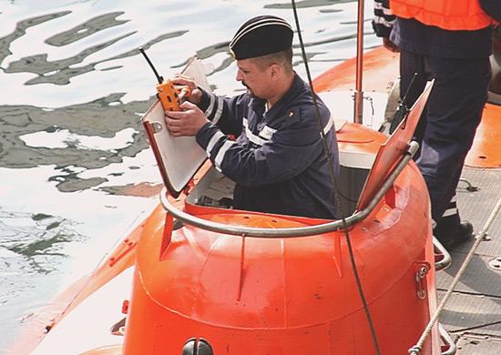В Японском море завершились испытания глубоководного спасательного аппарата АС-30