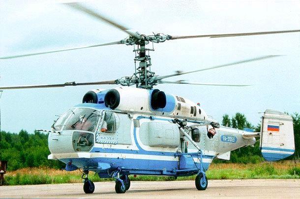 Севастопольское отделение МЧС получило вертолёт КА-32