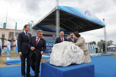 В Казани начато строительство завода по производству кремнийорганических мономеров