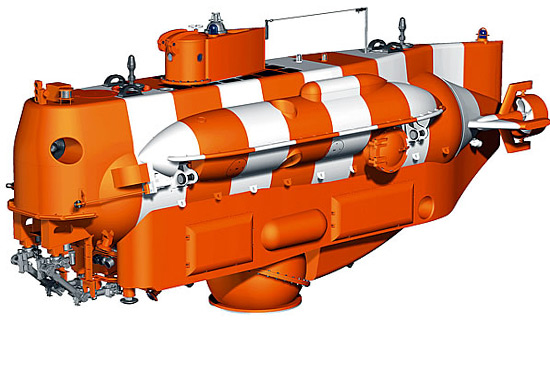 На Балтийском флоте испытывают новейший спасательный глубоководный аппарат «Бестер-1»