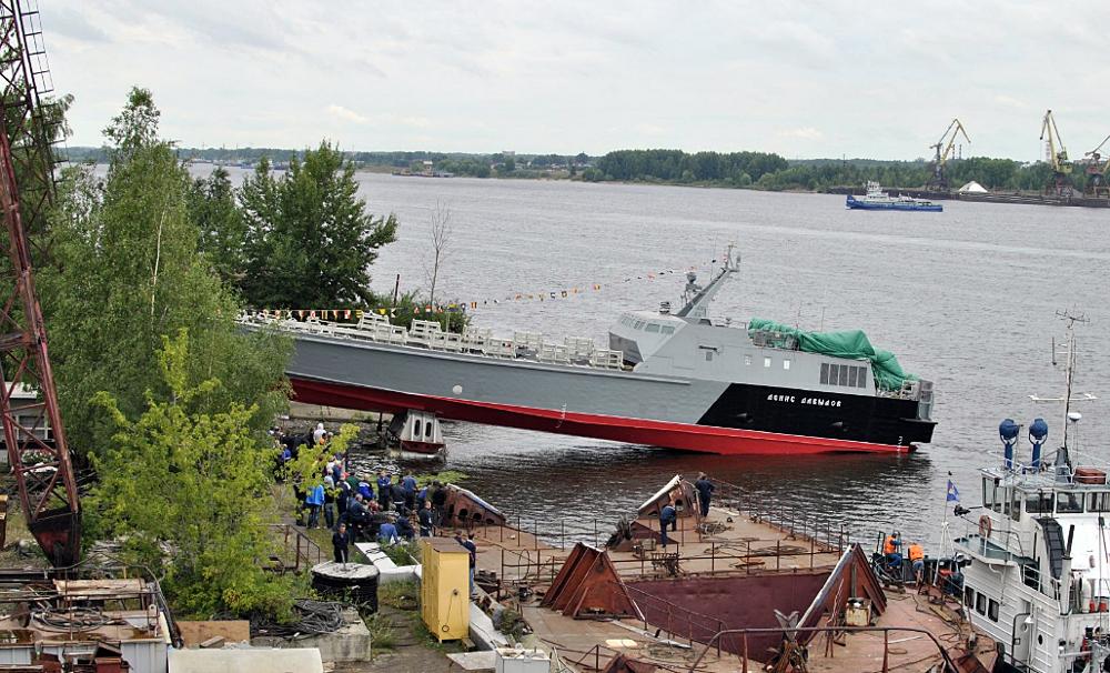 ВМФ России: новый десантный катер проекта 21820 «Денис Давыдов» завершает швартовые испытания