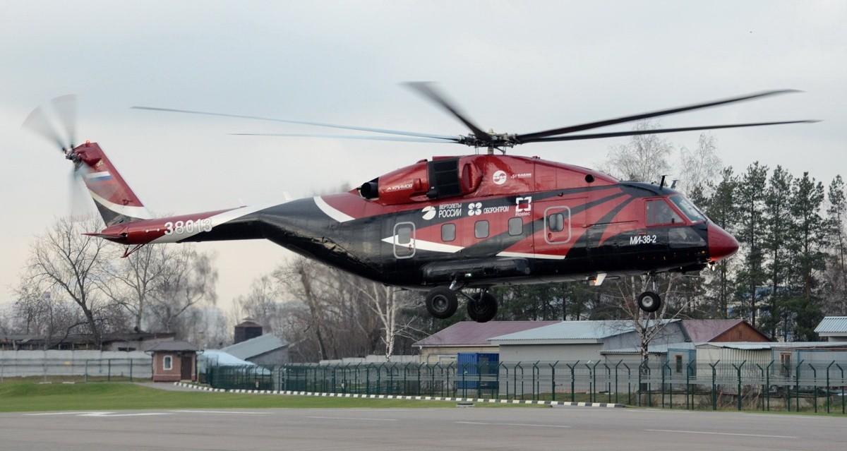 Окончился цикл испытаний вертолетов МИ-38