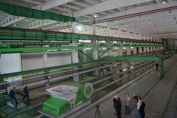 В Омске запустили линию по производству стеновых панелей