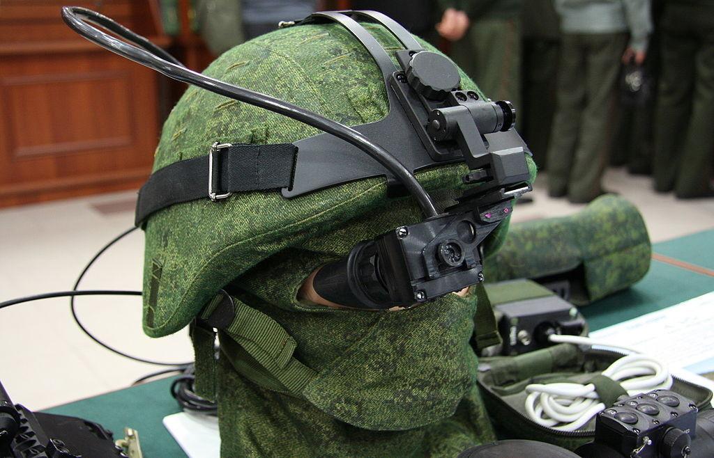 Новый российский комплект экипировки военнослужащего