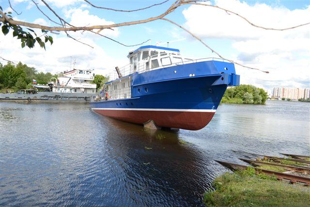 Головное обстановочное судно проекта 3052