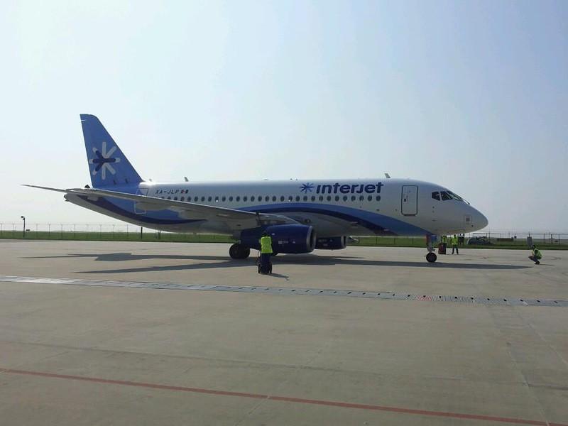 Восьмой Sukhoi Superjet 100 передан авиакомпании Interjet