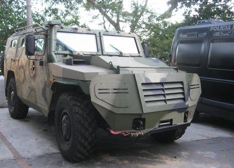 """Подразделение спецназа ЦВО получит 10 новейших бронеавтомобилей """"Тигр"""""""