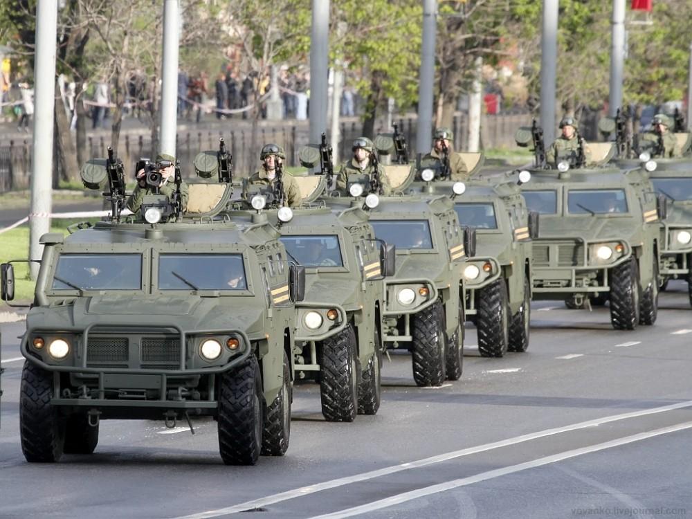 """Более десяти бронеавтомобилей """"Тигр"""" получит ВВО в течении месяца"""