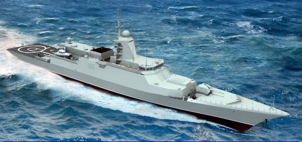 Корвет Балтийского флота отразил ракетную атаку условного противника