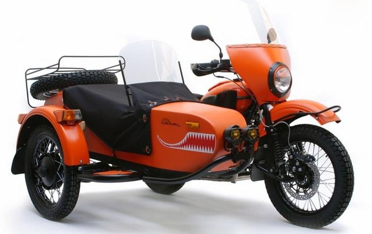 Мотоциклы «Урал» — теперь и в Китае
