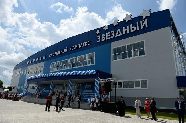 В Воронежской области состоялось открытие нового спортивного комплекса