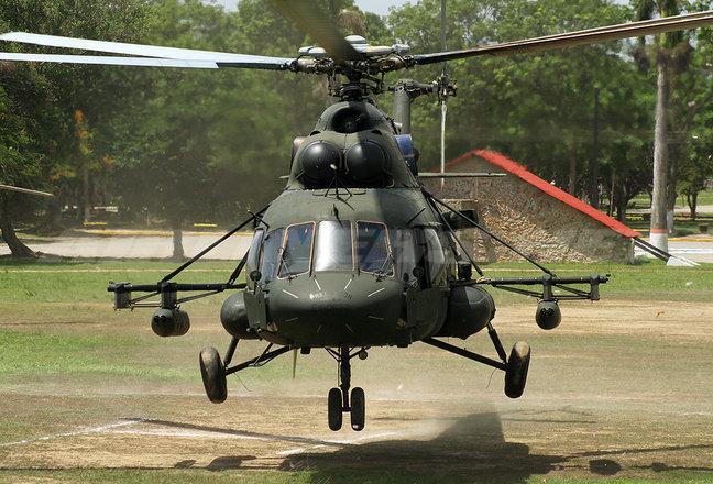 Очередная партия из трех военно транспортных вертолетов Ми-17В-5 поставлена в Афганистан