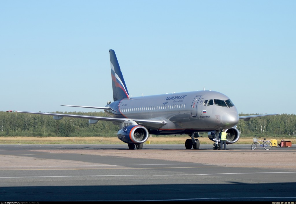 Самолеты Sukhoi Superjet-100 в 2012 году заняли 12% мирового рынка в своем классе