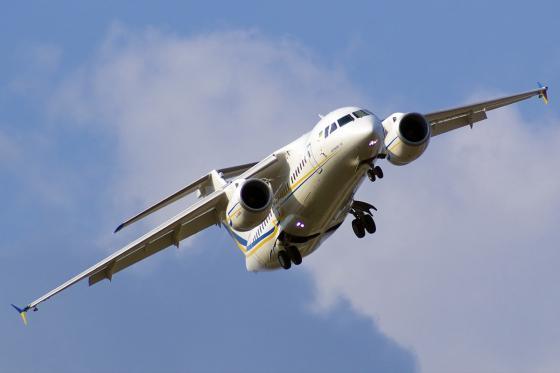 Новый Ан-158 готовится к отправке на Кубу