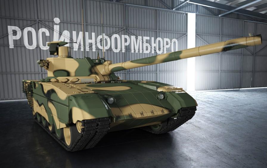 «Армата»: вероятный внешний вид перспективного русского танка