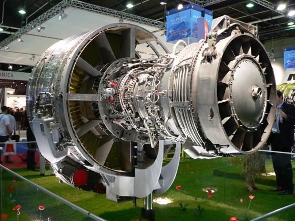 ОДК показала в британском Фарнборо высокотехнологичные двигатели