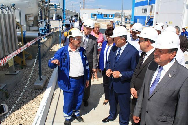 В Саратовской области (г. Балаково) запущен новый завод по производству технических газов