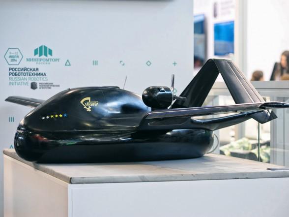 На выставке «Иннопром» представлен первый российский беспилотник на воздушной подушке