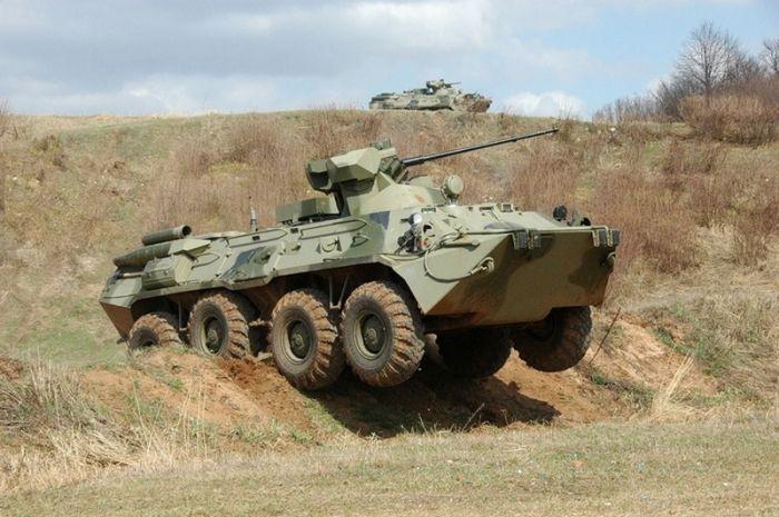 Центральный военный округ получил новые бронетранспортеры