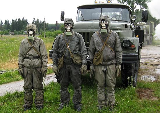 В Севастополе (Республика Крым) создан новый отдельный полк радиационной химической и биологической защиты