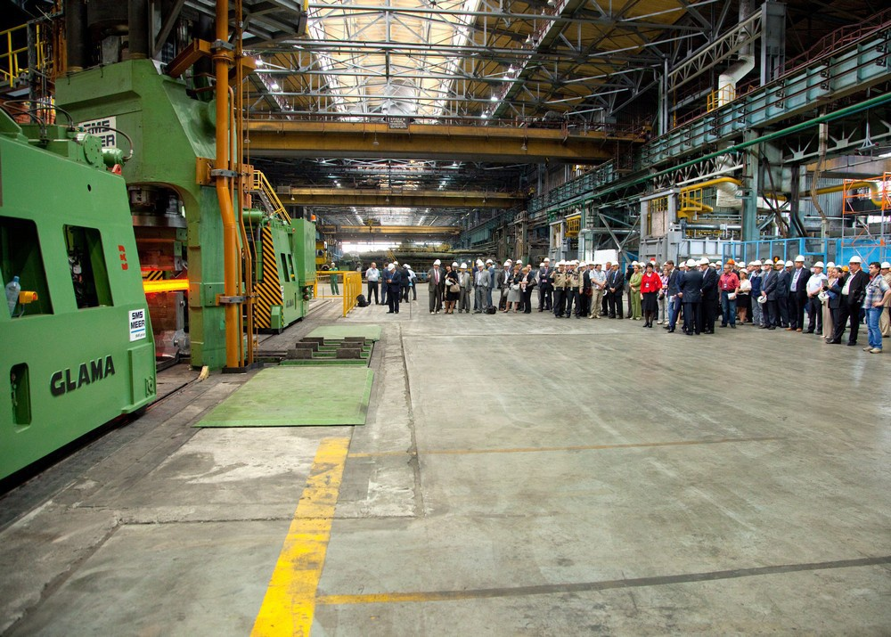Комплекс глубокого передела специальных сталей и сплавов запущен в Московской области
