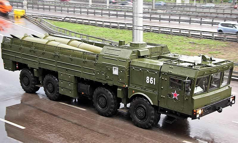 """Очередной """"Искандер-М"""" получили войска Западного военного округа"""